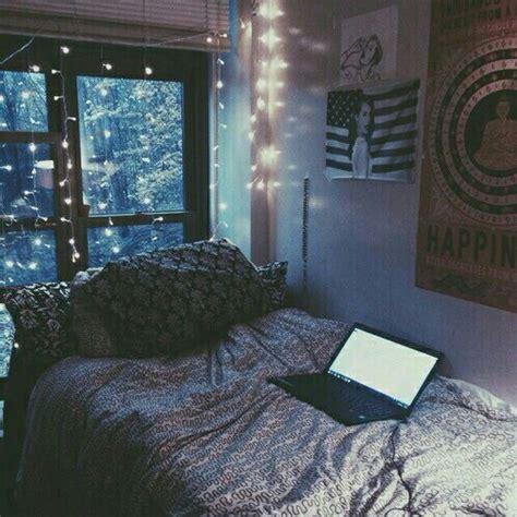 grunge bedroom alternative bedroom girly grunge lights image
