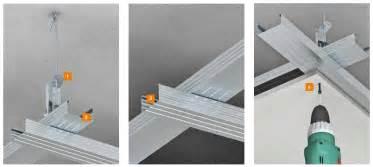 trockenbau decke unterkonstruktion ausbau mit metall unterkonstruktion
