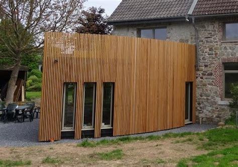 Bardage Vertical Bois by Transformation Et Extension D Un Ancien Moulin Annexe