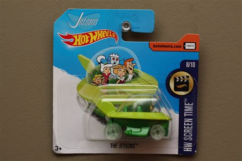 Diecast Wheels Screen Time The Jetsons wheels 2017 hw screen time the jetsons capsule car