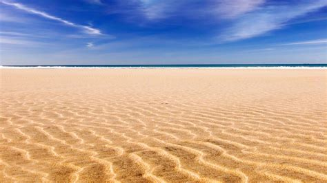sand beach golden beach wallpaper 385362