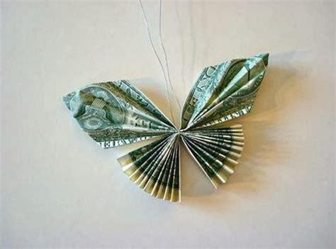 diy money butterfly origami  idea king