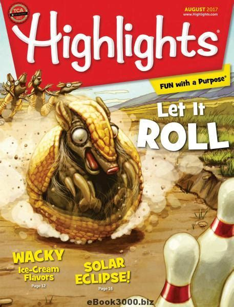 Novel S Weekly Fiction Special April 2017 Ebook highlights for children august 2017 free pdf magazine