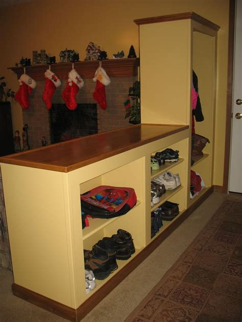coat closet shoe storage pin by sullivan on organization