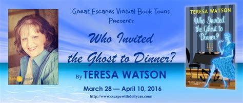 causes a dr leclair mystery books review giveaway who invited the ghost to dinner by