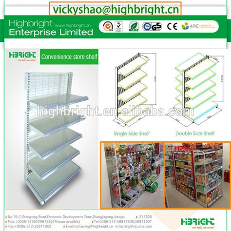My Mini Supermarket Limited grocery store mini market food display gondola rack view display gondola rack highbright
