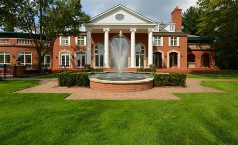 house of bedrooms bloomfield hills mi 12 7 million brick colonial mansion in bloomfield hills mi homes of the rich
