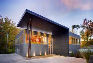 sheet metal homes architectural zinc in residential applications why more