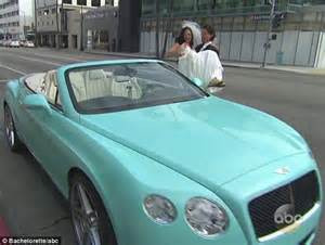 Baby Blue Convertible Bentley Desiree Hartsock Readjusts To Driving Battered Honda