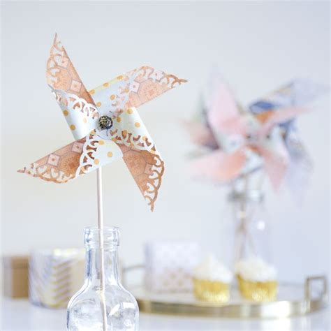 How To Make Paper Pinwheel Decorations - 15 best images about paper pinwheels on