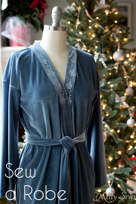 simple robe pattern sew a robe easy tutorial melly sews