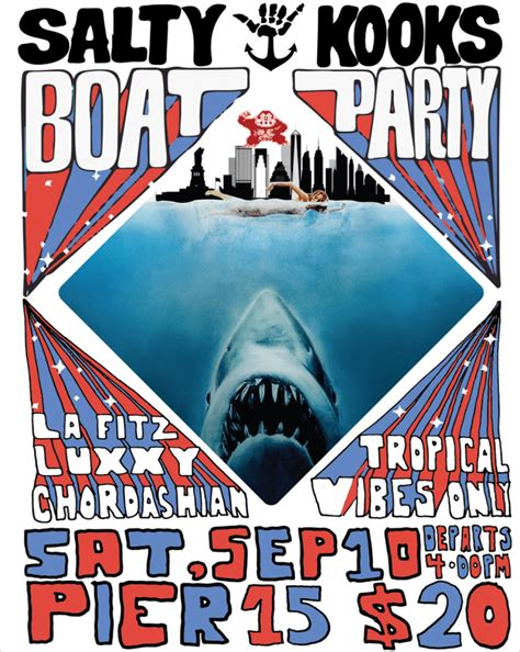 house music boat party nyc summer isn t over yet nyc salty kooks boat party