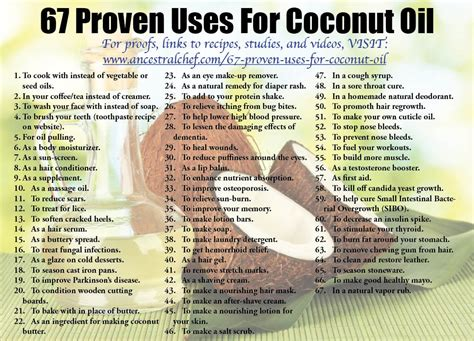 Can You Use Coconut To Detox by 67 Proven Uses For Coconut