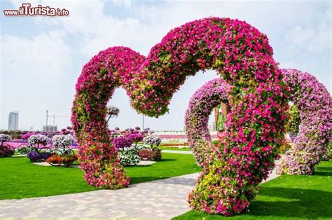 beautiful flower gardens of the world cuori di fiori al miracle garden di dubai il nuovo