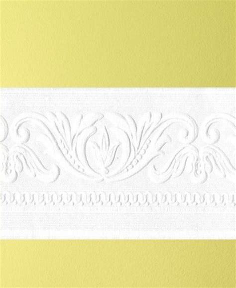 classic scrool paintable border wallpaper contemporary