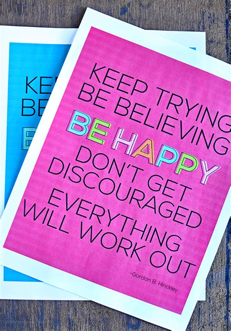 encouraging card template printable quotes card print