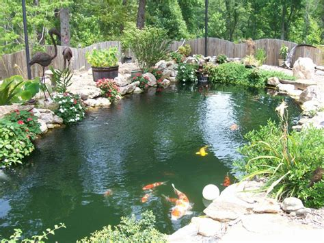 Backyard Koi Ponds Charleston S Backyards Tranformed Into Family Sanctuaries