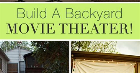 how to make a backyard movie theater build a backyard movie theater backyard movie theaters