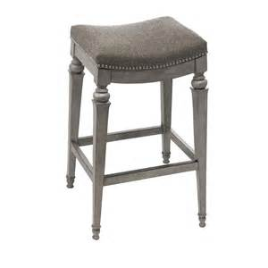 251 selby gray backless non swivel counter stool