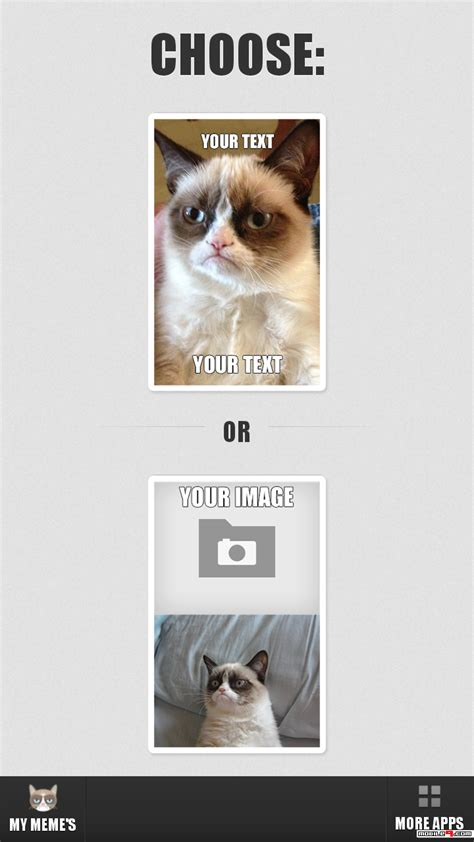 Grump Cat Meme Generator - download grumpy cat meme generator android games apk