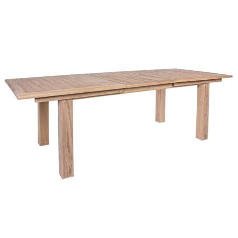 tavolo teak tavolo maryland in teak da giardino allungabile 180 240