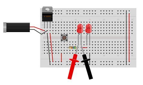 led dropping resistors led resistor voltage drop 28 images why is led lighting up despite supply voltage basic