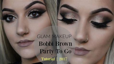 eyeliner tutorial bobbi brown glam makeup bobbi brown party to go tutorial 2017