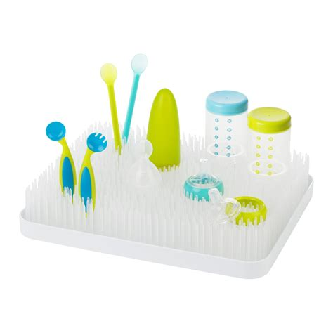 Boon Grass Countertop Bottle Drying Rack by Boon Lawn Countertop Drying Rack White Baby