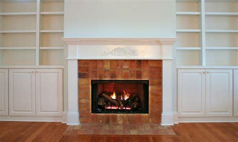 Fireplace Bookshelves Design 42 Best Images About Living Room On Fabric