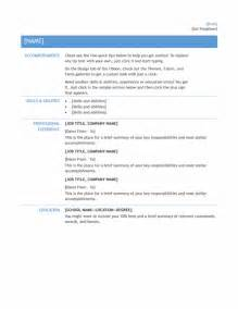 simple resume templates basic resume templates