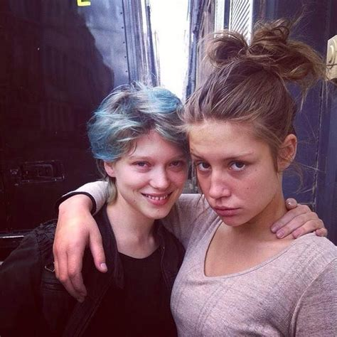lea seydoux instagram 1000 images about b i t w c adele exarchopoulos lea