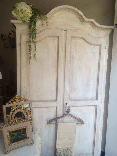 armadio stile shabby armadio shabby chic in legno nuovo di pioppo massello