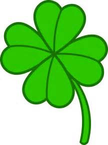 Shamrock Outline Clipart by Four Leaf Clover Cliparts The Cliparts