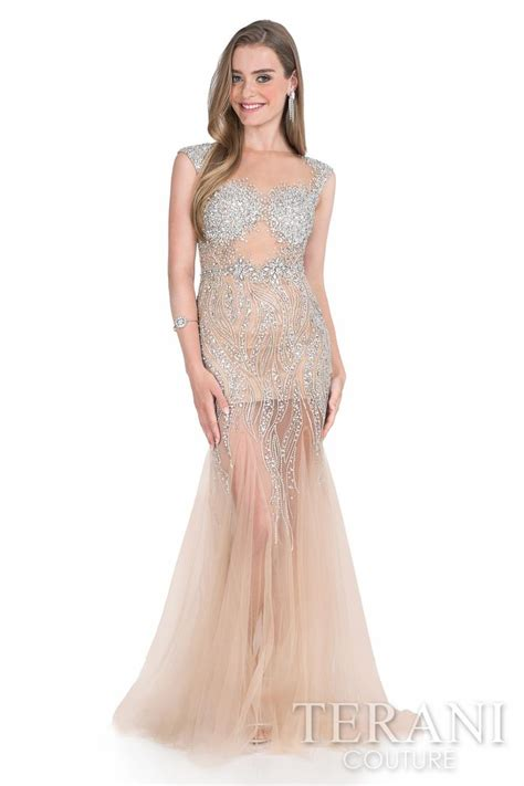 Sabrina Chiffon Grace 17 best images about terani couture on trumpet