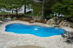 pool backyard designs modern fiberglass swimming pools in ground pool design in ground pool