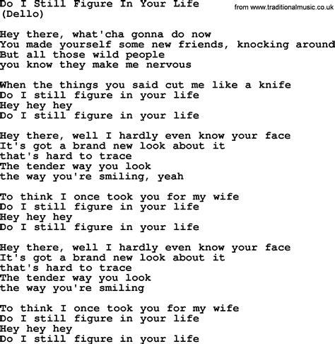 figure lyrics do i still figure in your by the byrds lyrics with pdf