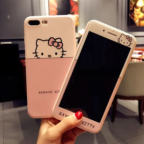 pink case  iphone      kitty cases