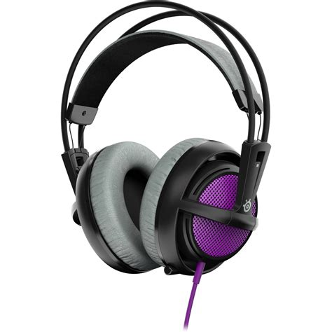 Headset Gaming Steelseries Siberia steelseries siberia 200 gaming headset purple 51136 b h