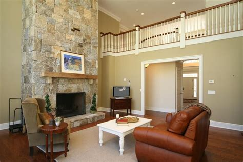 Home Designer Pro Stairs modern living room with cathedral ceiling amp stone