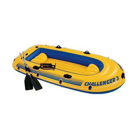 Perahu Kayak Untuk 2 Orang Karet Intex Challenger K2 Kayak Set 68306 jual intex perahu karet challenger 3 yellow set boat 68370np harga kualitas