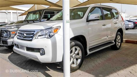 lexus gx 460 for sale aed 97 000 white 2012