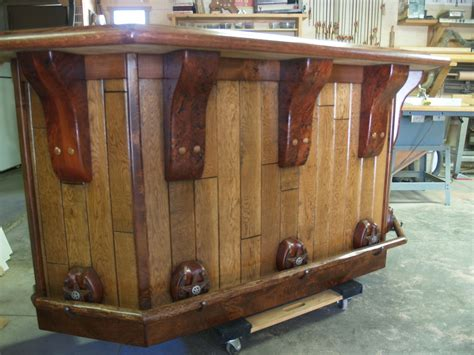 Western Kitchen Cabinets hand crafted rustic western bar by art of wood