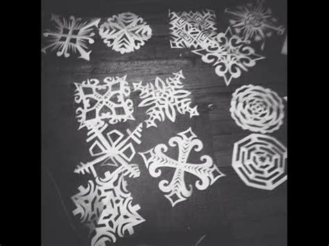 How To Make Awesome Paper Snowflakes - how to make cool paper snowflakes