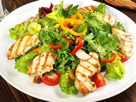substantial savory salads how to make a salad a meal mynetdiary