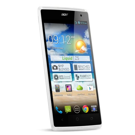 acer android mobile acer liquid z5 duo blanc mobile smartphone acer sur ldlc
