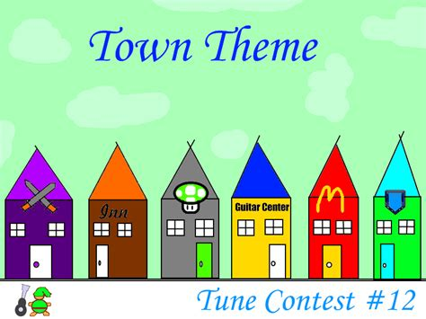 contest 2012 theme tune contest number 12 town theme tabs