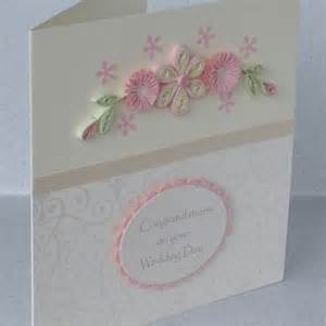 handmade wedding congratulations card folksy