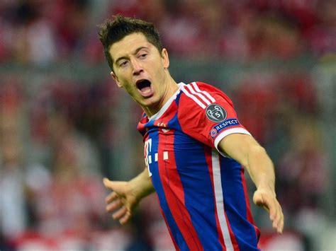 soccer haircut steps chions league robert lewandowski stars as bayern