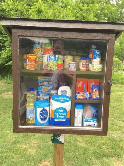 free pantries allow communities to lend neighbors a