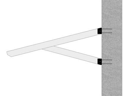 staffe per tettoie staffa pensilina